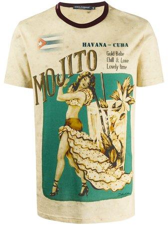 Dolce & Gabbana t-shirt à Imprimé Graphique - Farfetch