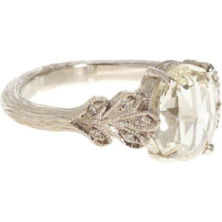 Simple Vintage Wedding Ring