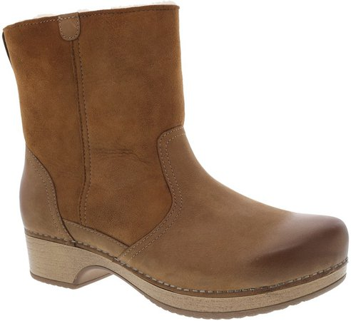 Bettie Genuine Shearling Lined Boot