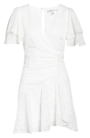 Ever New Embroidered Minidress | white