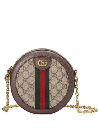 Gucci Ophidia Mini GG Round Shoulder Bag - Farfetch