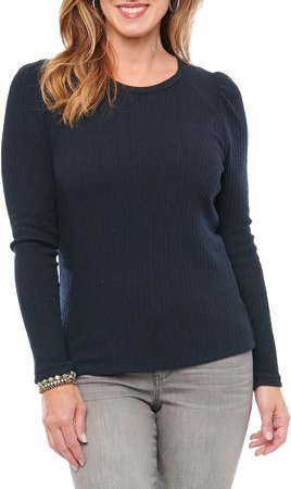 Rib Crewneck Sweater