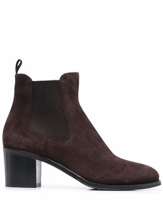 Church's Suede Heeled Boots - Farfetch