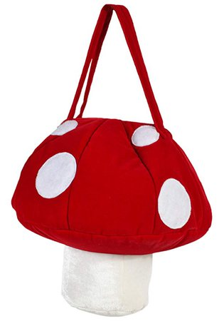 Amazon.com: Women's Super Mario Mushroom Handbag Purse - ST: Clothing