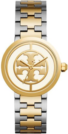 Reva Watch, Two-Tone Gold/Stainless Steel/Ivory, 36 MM