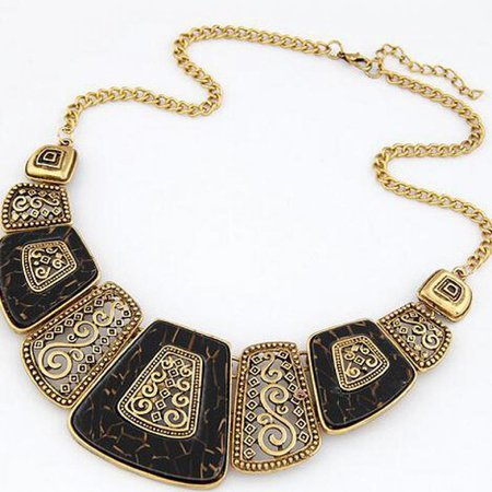 collier femme necklace collares statement choker statement indian jewelry women brand Luxury chunky vintage necklaces & pendant -in Torques from Jewelry & Accessories on Aliexpress.com | Alibaba Group