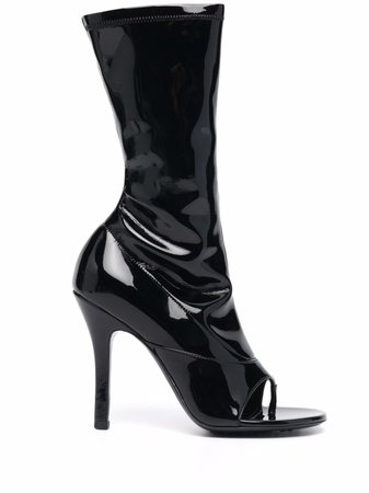 Givenchy 110mm open-toe boots - FARFETCH