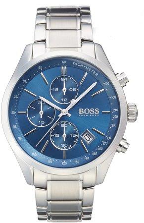 Grand Prix Chronograph Bracelet Watch, 44mm