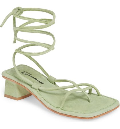 Jeffrey Campbell Kaine Wraparound Tie Sandal (Women)   Nordstrom