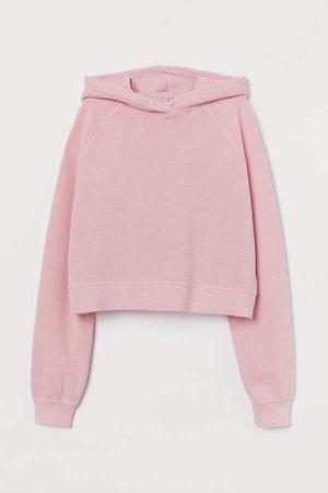 Cropped Hoodie - Pink