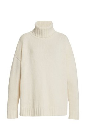Brently Oversized Cashmere Turtleneck Sweater By Nili Lotan   Moda Operandi