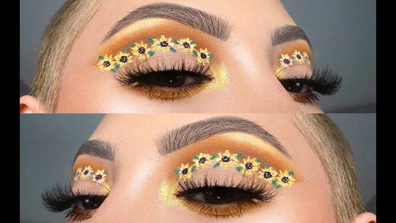 sunflower eyeshadow - Bing images