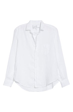 Frank & Eileen Eileen Linen Button-Up Shirt