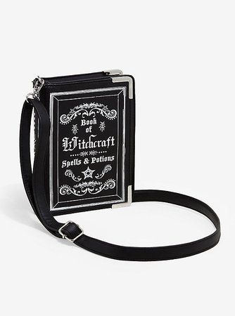 Witchcraft Spells & Potions Book Crossbody Bag
