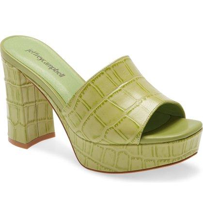 Jeffrey Campbell Magdalen Platform Sandal (Women) | Nordstrom