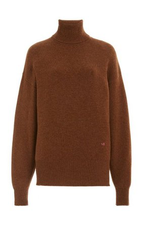 Oversized Cashmere-Blend Turtleneck Sweater By Victoria Beckham | Moda Operandi