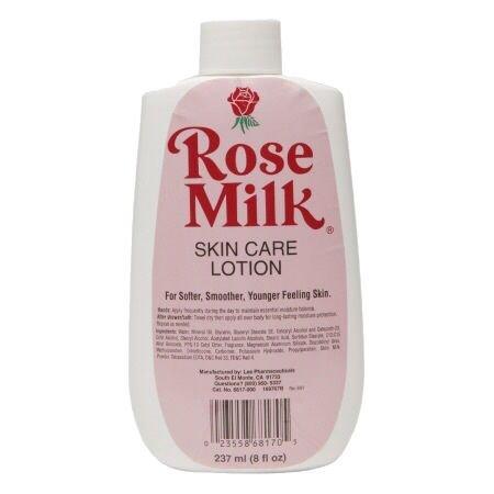 Rose milk lotion