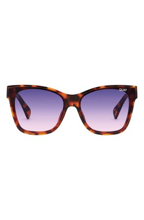 Quay Australia x Lizzo After Party 57mm Square Sunglasses | Nordstrom