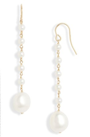 Poppy Finch Baroque Pearl Drop Earrings | Nordstrom