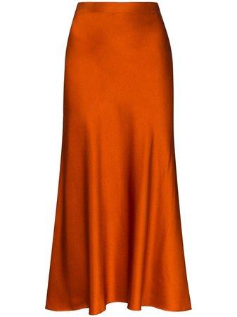 Rosetta Getty Slip Maxi Skirt Ss20 | Farfetch.com