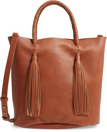 The Tasseled Bucket Bag