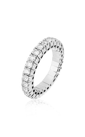 Eera Jessica Ring I In White Gold