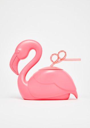 Flamingo Cup Sipper | Dolls Kill
