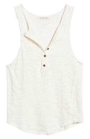 Free People Front Button Tank | Nordstrom