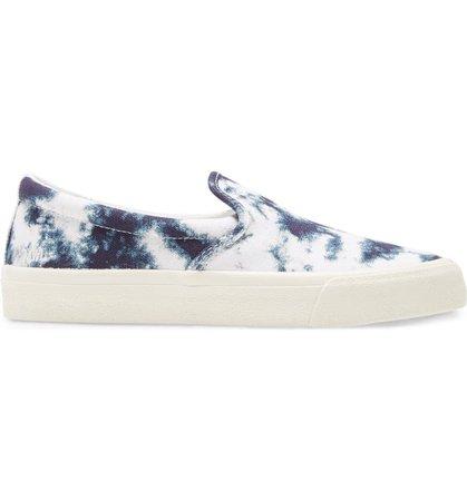 Madewell Sidewalk Tie Dye Recycled Canvas Slip-On Sneaker (Women) | Nordstrom