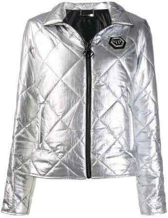 Cyrstal puffer jacket