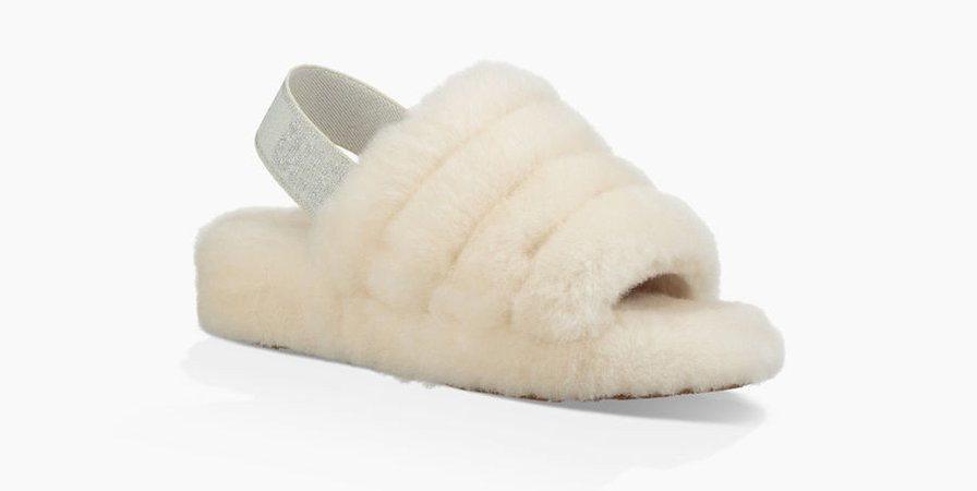 UGG® Fluff Yeah Slide Open Toe for Women | UGG® UK