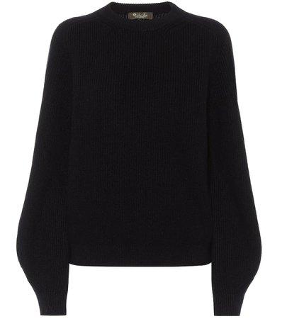 Loro Piana, Lexington cashmere Navy sweater