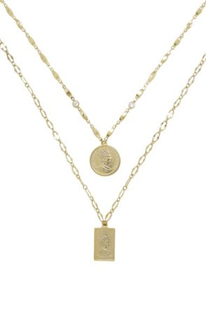 Ettika Set of 2 Pendant Necklaces | Nordstrom