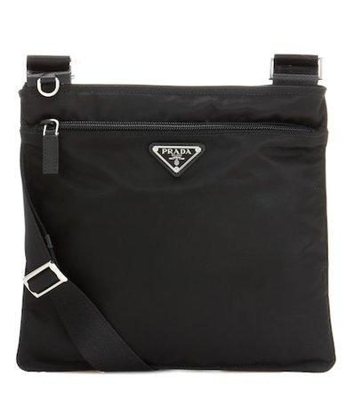 Twill crossbody bag