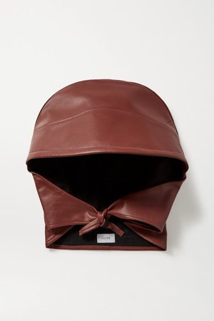CLYDE | Leather hat | NET-A-PORTER.COM