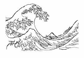 drawing of a wave - Google Search