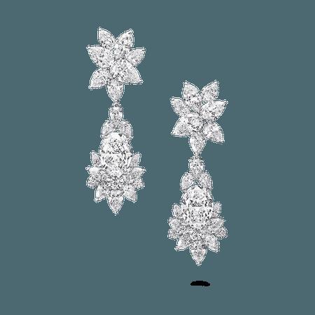 Diamond Earrings, 61.24 cts | Graff