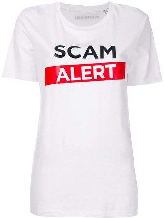 Manokhi Scam Alert T-shirt