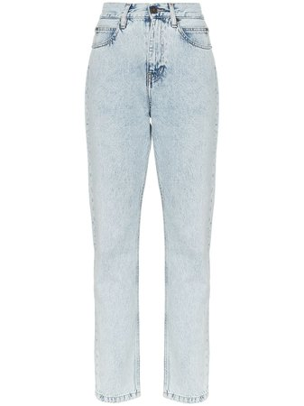 Calvin Klein Jeans Est. 1978 Low Rise Slim Leg Jeans - Farfetch