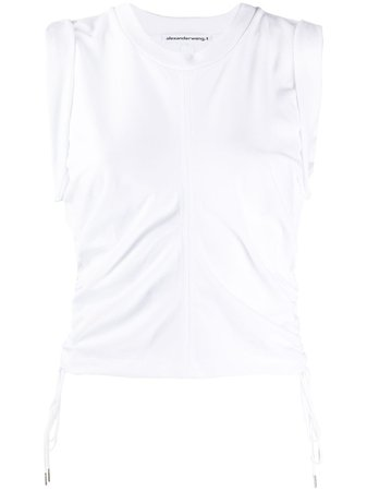 T By Alexander Wang Ruched Tank Top - Farfetch