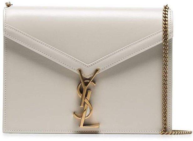 beige cassandra chain leather shoulder bag