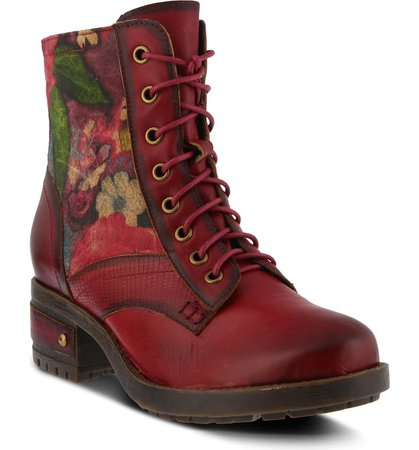 L'Artiste Marty Lace-Up Boot (Women) | Nordstrom
