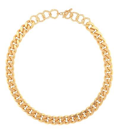 Elhanati - Charley 24kt gold-plated chain necklace | Mytheresa