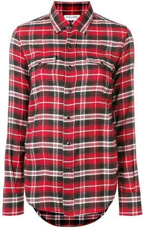 Saint Laurent Flannel Shirt