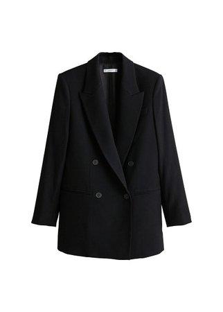 MANGO Double-breasted blazer