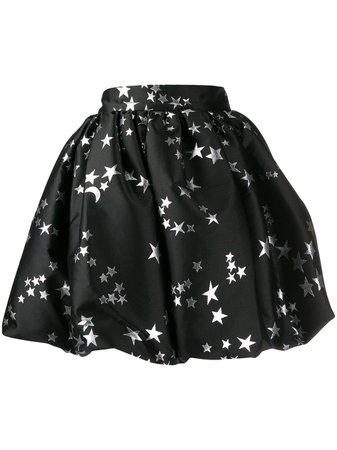 Black P.a.r.o.s.h. Star Print Skirt   Farfetch.com