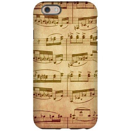sheet music phone case