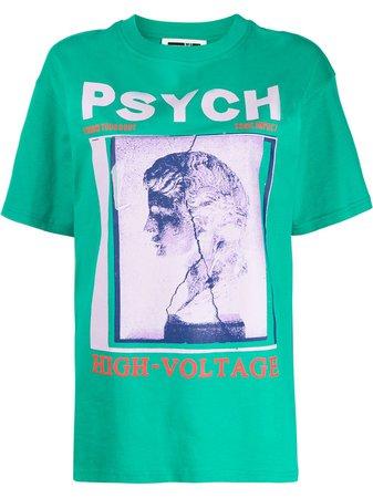McQ Alexander McQueen Graphic Print T-shirt - Farfetch