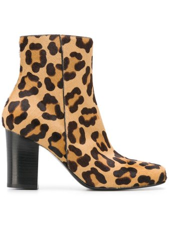 Antonio Barbato leopard print ankle boots £435 - Fast Global Shipping, Free Returns