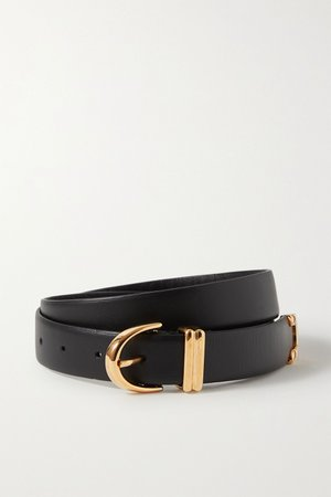 Black Bambi leather belt | Khaite | NET-A-PORTER